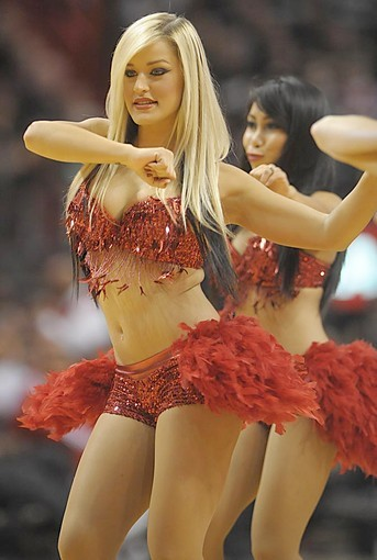 <b>Photos:</b> Miami Heat Dancers in action - Miami Heat Dancers against Magic