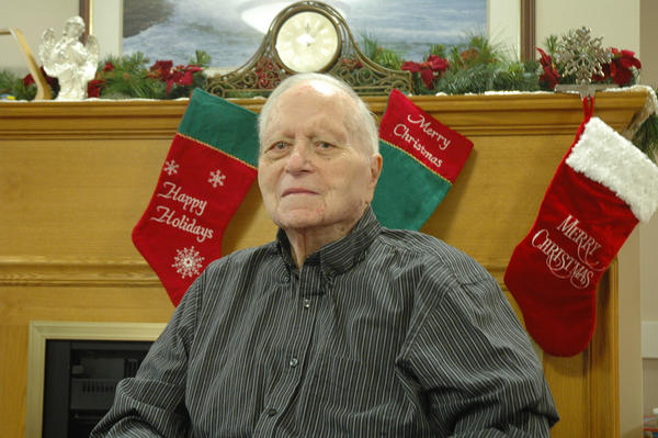 Frank Granstra of Harbor Springs turns 100 today, Wednesday, Dec. 19.