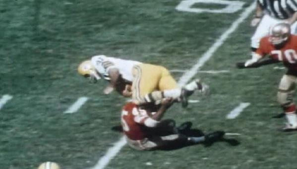 The first feature from NFL Films utilized Telephoto lens and slo-motion to offer a primer on the game.