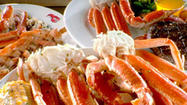 Red Lobster is offering a Facebook coupon for a free half pound of crab legs with purchase of two entrees.