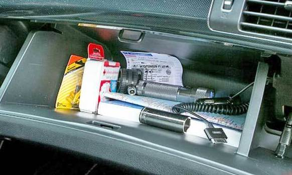 The glove box can be a useful treasure chest in cars, housing everything from important papers and receipts to tire gauges and extra fuses. It's a safe, easy-to-access place for crucial items, and almost every car has one.
