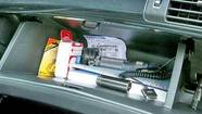 Photos: Glove box essentials