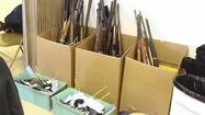 Gift Cards for Guns nets 160 guns at Laurel exchange