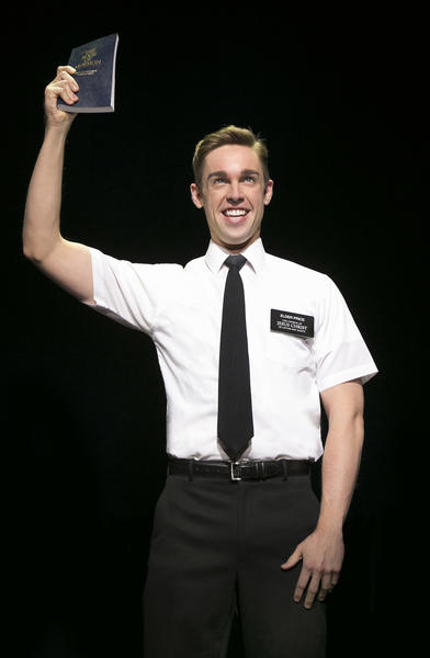 Nic Rouleau in  The Book of Mormon 2nd National Tour.