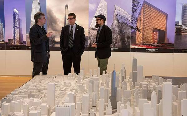 From left: Charlie Catlett, Brett Goldstein, Douglas Pancoast.
