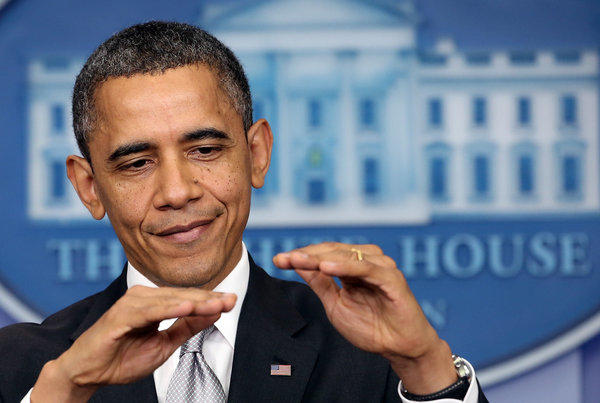 President Obama talks 'fiscal cliff'