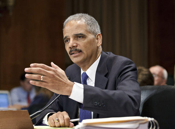 "Atty. Gen. Eric Holder on ""Fast and Furious"""
