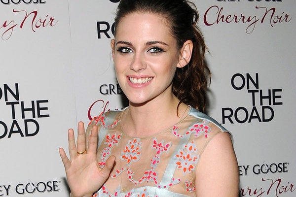 "Kristen Stewart at the ""On the Road"" premiere last week in New York City."