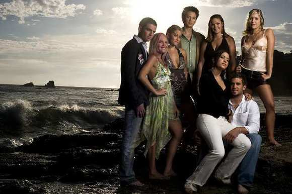 "Talan Torriero is on the left in this 2005 publicity shot for the reality series ""Laguna Beach: The Real Orange County."""