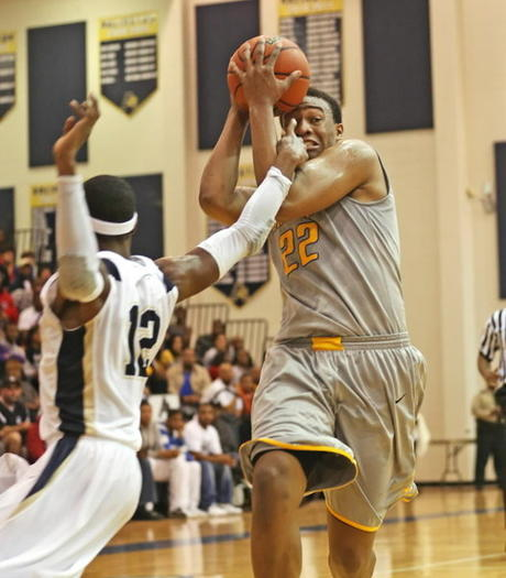 Jabari Parker hasn't tipped his hand about his college decision.