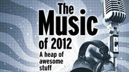 Is it us or was 2012 the year of streaming music? It seems like most everyone we know is now listening to music — new music, old music, super-obscure music, pop bubble gum, the latest releases, old-school hip-hop, brutal metal, avant classical, out jazz, indie flavor-of-the-day, guilty pleasures, and almost everything else — on Spotify, Pandora or Rdio or some other streaming service. (Trent Reznor is supposed to launch yet another music-streaming site early next year, this one with supposedly new ways of helping listeners navigate the overwhelming volume of music that's available.) Except for those music-giant holdouts who haven't yet permitted the licensing of their choicest songs — Led Zeppelin, Pink Floyd, the Kinks, um, Bob Seger — it's all basically out there. That means that music fans, especially the older kind who like new music but never quite learned to embrace the outlaw thrill of file-sharing, can get a taste of what 2012 sounds like without all of those so-2008 encumbrances like MP3 players or hard drives or, god forbid, CDs. In some ways the near-limitlessness of streaming music has served to reinforce whatever genre bubble many of us were already stuck in. Many of us have listened to more new music in 2012 than in years. And so when it came time to assemble our list of music-you-should-have-heard 2012, this year was maybe a little easier. But at the same time, the flood of good new releases forces us to steer clear of making any definitive or comprehensive statement about the nature of music in 2012. Our list, as you can see, is pretty skewed toward indie rock and metal. That's where our preferences lie. Jazz, hip-hop, country, classical and a million other subgenres go mostly overlooked here. But the ether flows with more new music — in all those genres — than you could probably listen to in a lifetime. If you've never heard of these titles, check out something that might be unexpected. If this music leaves you scratching your head, questioning our good taste, let us know what struck your ears as awesome this year.