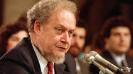 Robert Bork, rejected Supreme Court nominee, dies at age 85