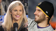 Minnesota Vikings quarterback Christian Ponder and ESPN reporter Samantha Steele wanted to keep their marriage quiet, so they tied the knot in enemy territory Monday with no family or friends present.