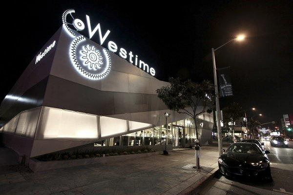 The exterior of Westime.
