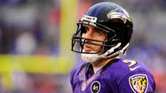 The sight of Joe Flacco face down at M&T Bank Stadium on Sunday was another moment of frustration in an arduous three weeks for the Ravens' quarterback.