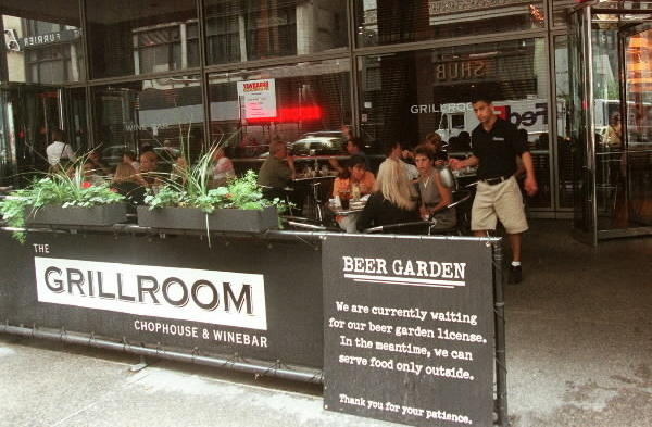 "<strong>Grillroom Chophouse & Wine Bar</strong>: ""We can't wait for 'Book of Mormon' to open,"" one waitress told me, and I don't doubt it. The restaurant, a reliable American with steaks, chops and comfort-food dishes (quite a few mac-and-cheese iterations on the menu), sits across the street from the Bank of America Theatre. Not only will this place be packed pre- and post-performance, one can hop over during intermission for a better glass of wine than the theater will offer. <Br><br><b> 33 W. Monroe St., 312-960-0000. </b>"