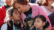 <b>PHOTOS: </b> Fans turn out en masse for Jenni Rivera memorial