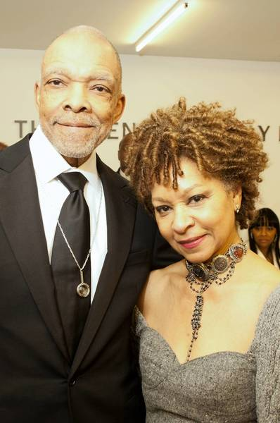 "Tom and Madeleine Burrell at Columbia College's ""Open Doors Gala"" at Columbia's Media Production Center on Friday, Dec. 7, 2012 in Chicago, Illinois."