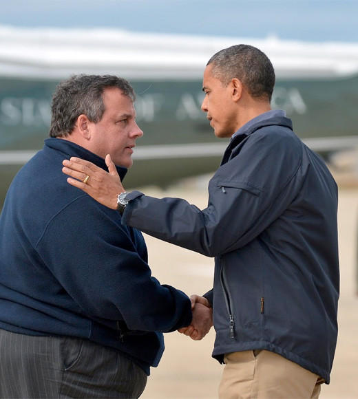 This bipartisan bromance has been approved by Bruce Springsteen.