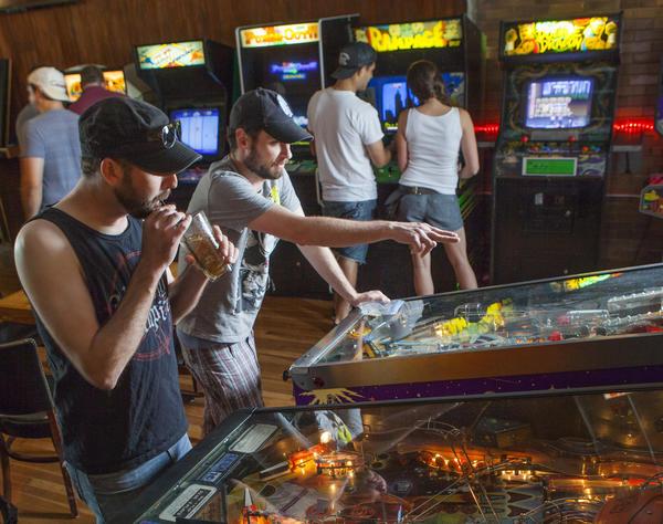 Emporium Arcade Bar in Wicker Park