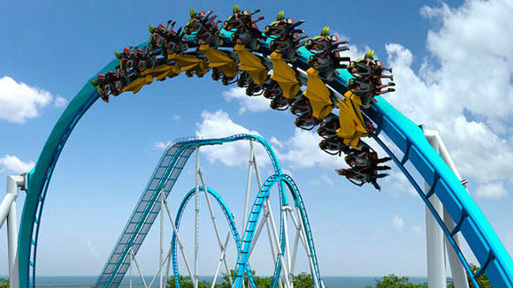 The GateKeeper winged roller coaster is coming to Ohio's Cedar Point in 201
