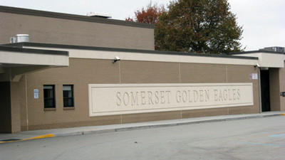 A Somerset student was suspended Wednesday for writing a 'hit list' of people he wanted to hurt.