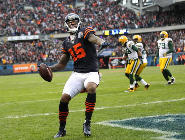If you drafted Bears wide receiver Brandon Marshall in your fantasy league, you were a happy owner.