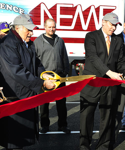 New England Motor Freight officially opens new Hagerstown terminal