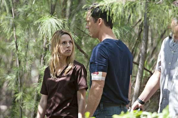 "A quick getaway would be nice, but Michael (Jeffrey Donovan) has to help Jesse (Coby Bell, left) and Sam (Bruce Campbell) on the season finale of ""Burn Notice"" at 9 p.m. on USA."