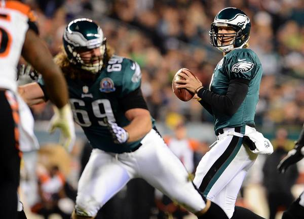 Eagles rookie quarterback Nick Foles will make his sixth start Sunday against Washington.
