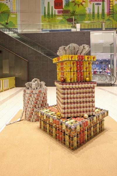 The seventh annual Canstruction LA design/build contest will take place at downtown L.A.'s Art Walk in January.