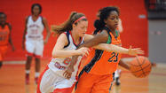 After rushing the offense at key moments Wednesday night, the No. 3 McDonogh girls basketball team settled down long enough for a late eight-point run to ensure a victory.