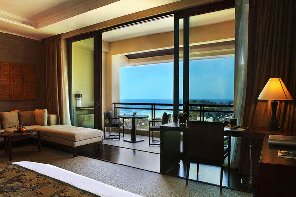 Raffles Hainan, scheduled to open in March, overlooks China's Clearwater Bay.