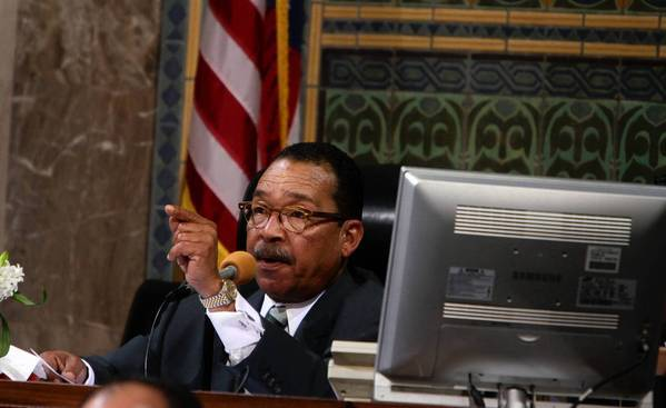 "Council President Herb Wesson refused to say whether Chris Pak or his company had raised money for him. ""Everybody has raised money for me,"" he says."
