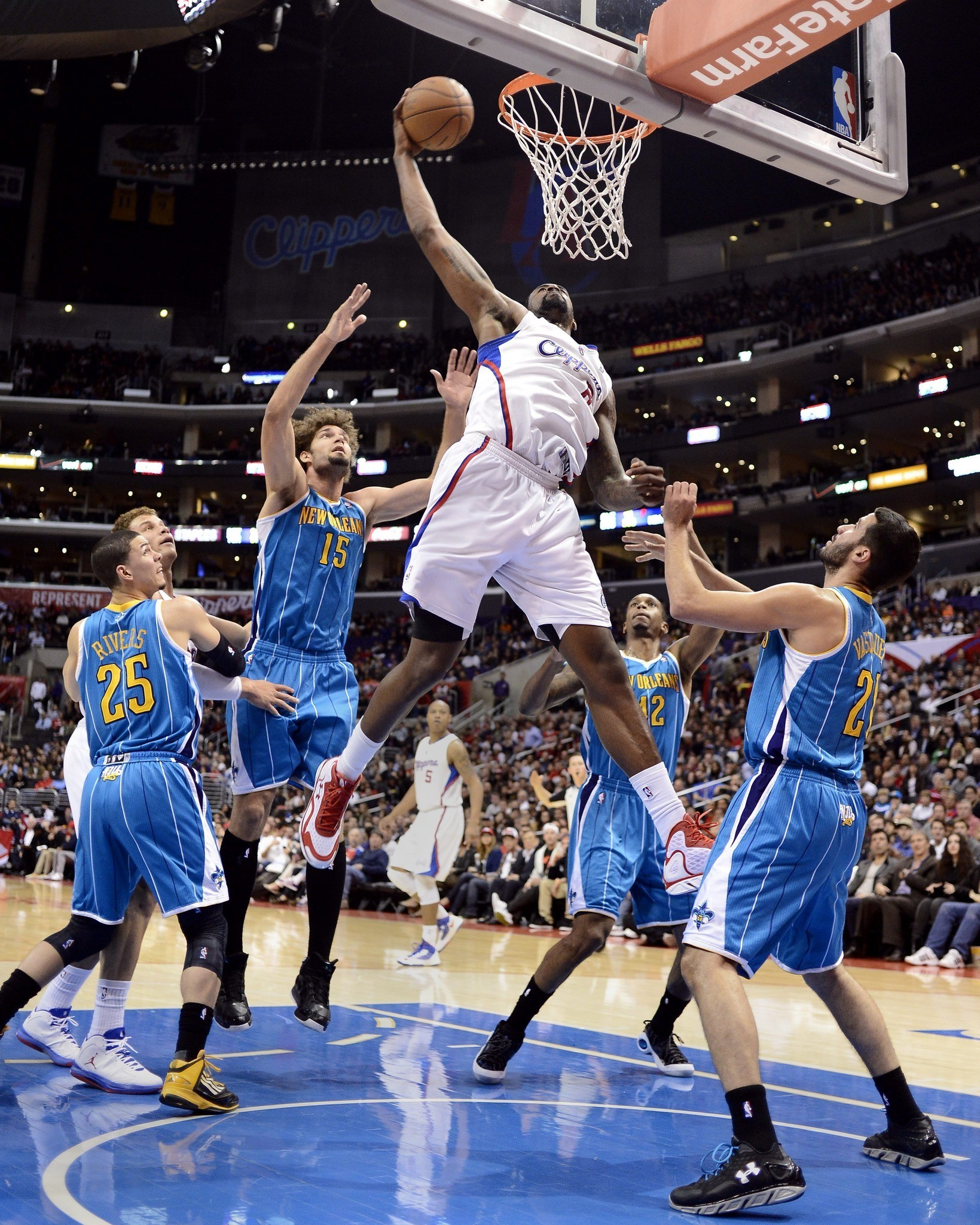 Photos: Clippers vs. Hornets - DeAndre Jordan
