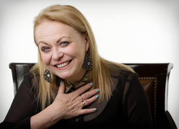 "Jacki Weaver plays the peacemaking matriarch of a fractured family in ""Silver Linings Playbook."""