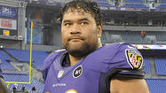 One week after an active, aggressive game against the Washington Redskins where he recorded five tackles and knocked rookie quarterback Robert Griffin III out of the game with a knee injury, Ravens Pro Bowl defensive tackle Haloti Ngata was extremely quiet against the Denver Broncos.
