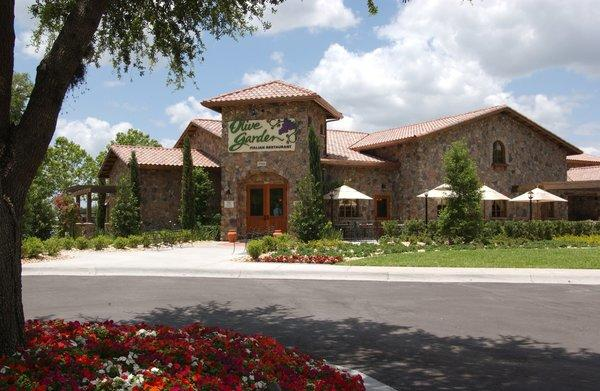 Olive Garden led Darden's second quarter slide with same-store sales falling 3.2%.