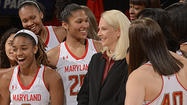 Tonight's women's basketball game between Maryland and Delaware is a sellout, according to a tweet from Kevin Tresolini, the outstanding University of Delaware beat writer for The (Wilmington, Del.) News Journal.