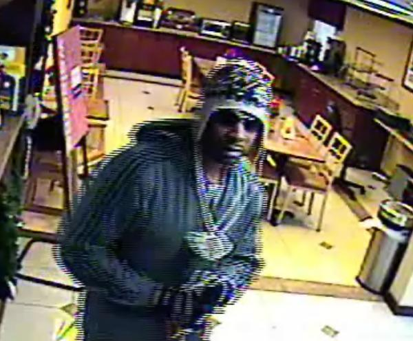 Police are seeking this man who allegedly robbed a Jessup hotel late last week.