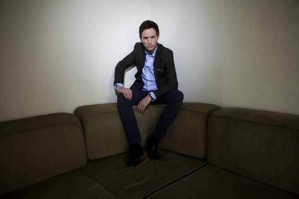 Celebrity portraits by The Times: Eddie Redmayne plays Marius, the student revolutionary and object of Eponines unrequited love in Les Miserables.
