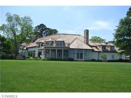 This home at 637 Burton Point Road in Mathews is on the market for $2,264,000.