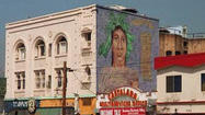 L.A. artist taking on Heineken over Silver Lake mural