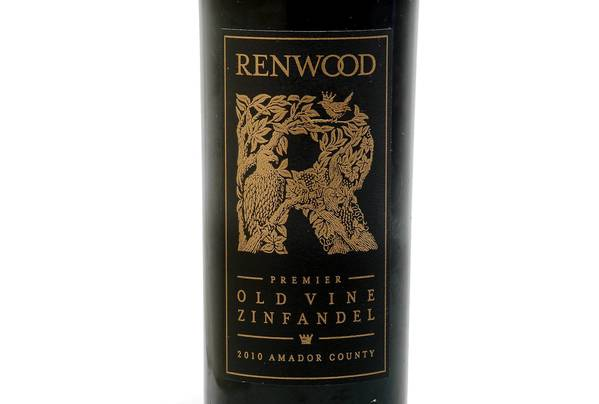 2010 Renwood Zinfandel 'Premier Old Vine': Wine of the Week