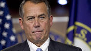 Boehner rejects Democrats' push for immediate vote on gun bill