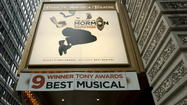 """The Book of Mormon"" pulled down a whopping $1,493,961 in its first full week of sold-out performances at the Bank of America Theatre, breaking the house record for that Loop venue."