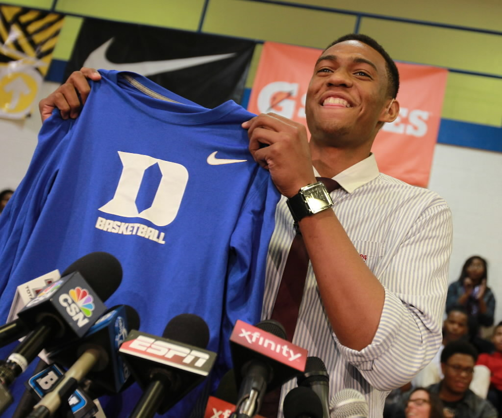 Jabari Parker's college choice - Chicago Tribune Jabari Parker Simeon