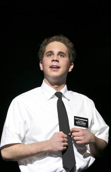 Ben Platt in The Book of Mormon National Tour.