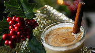 Frothy eggnog, made with milk, cream, eggs and alcohol, is known as a drink for the holidays, but its origin remains somewhat obscure.