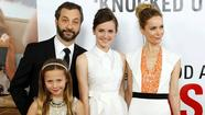 Judd Apatow, Leslie Mann and family